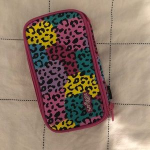 Other - Smiggle rainbow leopard print pencil case